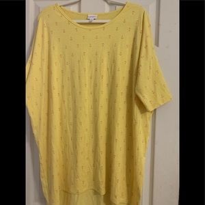 Lularoe size xl Irma top new no tags anchors